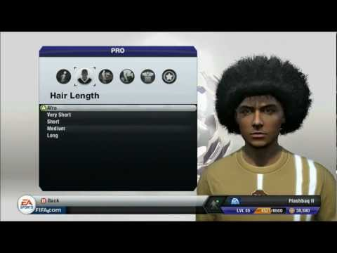 Fifa 13 Pro clubs - How to get a Giant Afro for your virtual pro