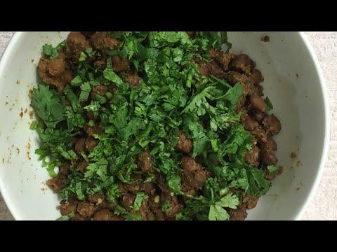 Kala Chana (dry)| no onion, garlic recipe|kala Chana Sundal