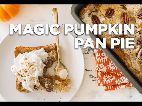 Magic Pumpkin Pan Pie
