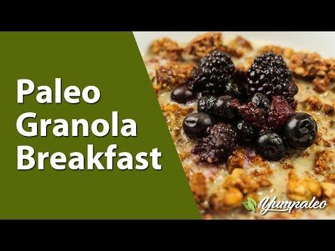 Paleo Granola Breakfast