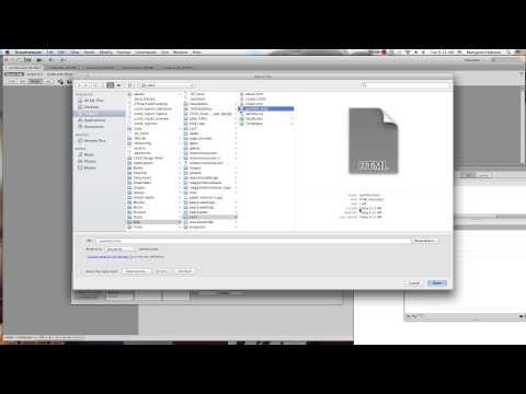 Creating Templates in Dreamweaver CS6