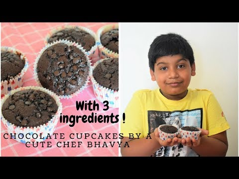 अब केक बनाना है बच्चों का खेल  Biscuit Chocolate Cupcakes  Easy recipe for begginners FoodConnection