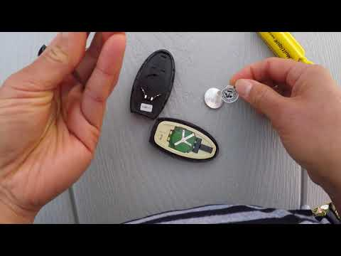How to Replace Nissan Key Fob Battery
