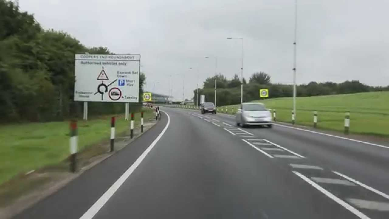 Directions to London Stansted Airport Short Stay Car Park (Red Zone)