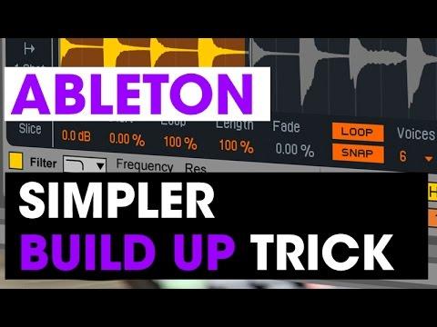 Simpler Build Up Trick - Ableton tech tip