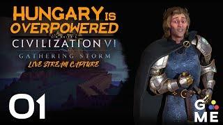 let's play civ 6 gathering storm ungarn Videos - 9tube tv