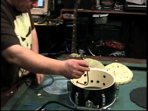 How to make an electronic drum trigger out of an acoustic drum DIY