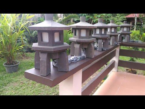 Making a Concrete Lamp ¦ for Zen garden ¦ indoor & outdoor