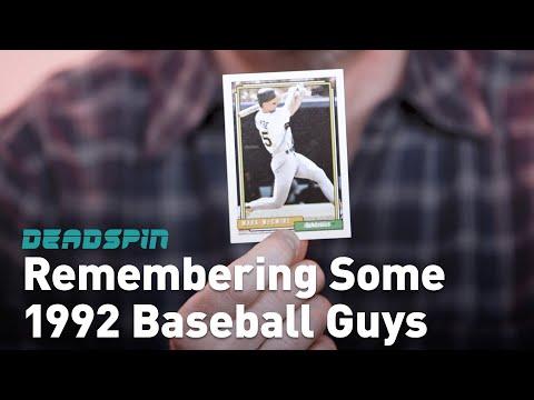 Remembering Some Guys: 1992 Baseball Guys