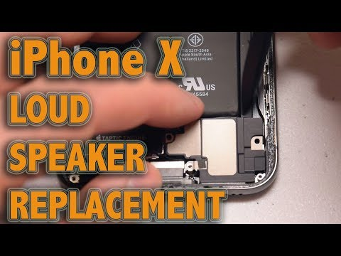 iPhone X Loud Speaker Replacement