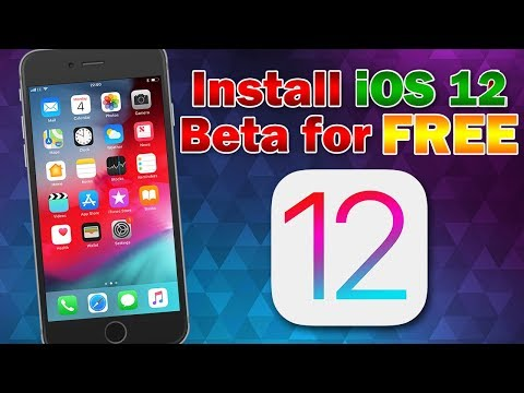 How to Install iOS 12.0 Beta 1 Free (No Computer & No UDID Activation) iPhone, iPod touch & iPad