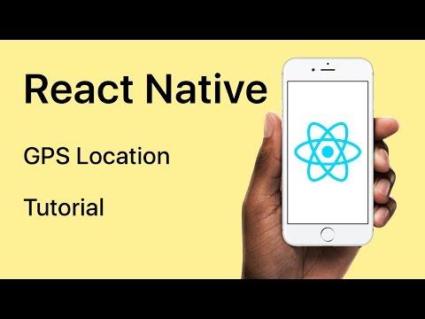 React Native - GPS Location