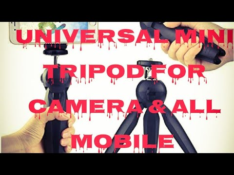 Unboxing Mini Tripod For Mobile & Camera | Universal Mini Tripod by SMTG