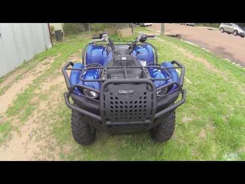 Yamaha YFM550/700 Grizzly Hunter Series Bullbar and Siderail Kit