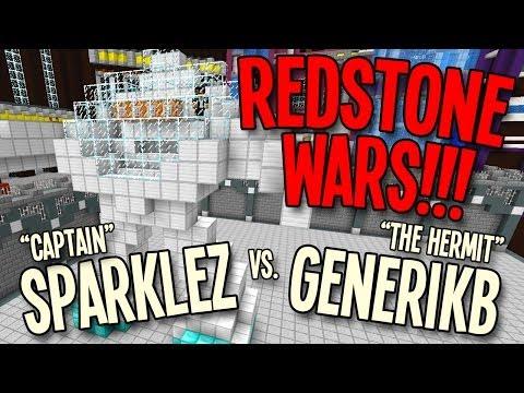 Minecraft: Redstone Wars vs. CAPTAINSPARKLEZ!!!