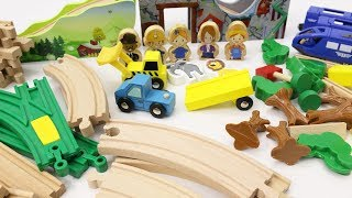 Building Toys for Children Toy Train Toy Trucks Animals for Kids