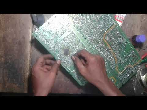 how to remove SMD ic in easy way