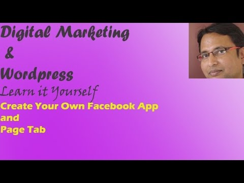 Create Facebook app and Page Tab in Facebook
