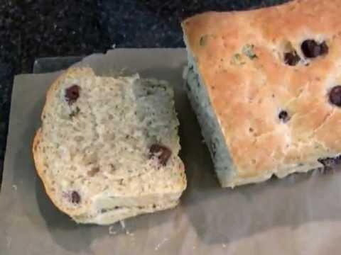 Black Olives Bread recipe