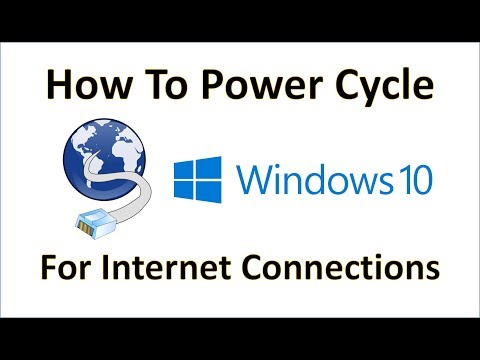 Computer Fundamentals   How To Power Cycle a Device