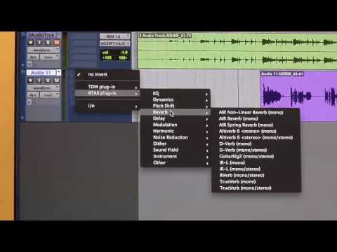 Pro Tools Production Tips (How to use an Aux Track)