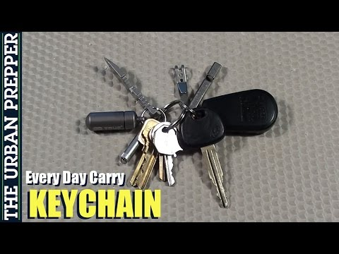 EDC Keychain by TheUrbanPrepper