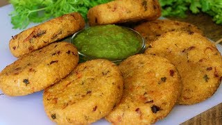Rice Cutlet Recipe | Leftover Rice Cutlet Recipe | Crispy Cutlets | Kanak's Kitchen