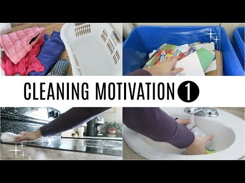 Cleaning Motivation 1   Kid's Bedrooms, Bathroom & Kitchen