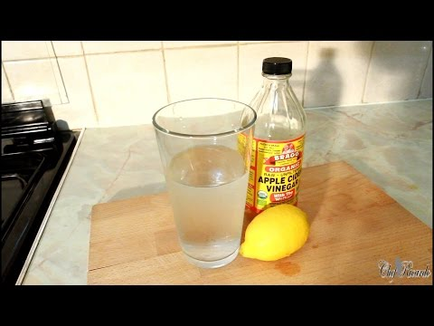 How To Lose Belly Fat Fast in 1 Week Apple Cider Vinegar Drink
