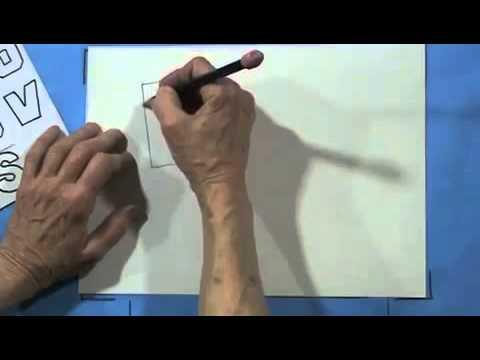 GRADE 5 MODULE 2 LESSON 1 1 PT PERSPECTIVE 3D LETTERS