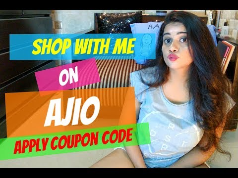 Shopping on Ajio | Applying COUPON CODE |TheLifeSheLoved| Sana K