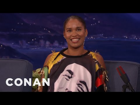 Joy Bryant Lost Her Virginity Across From Her Honorary Street Sign In The Bronx  - CONAN on TBS