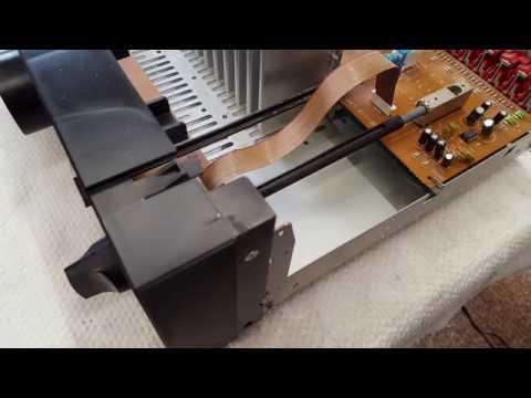 Aiwa XA-003 amplifier input selector knob repair