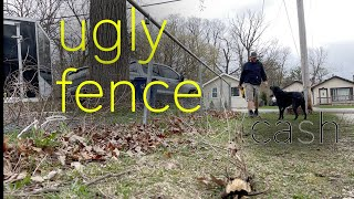 How to remove a chain link fence (DIY)