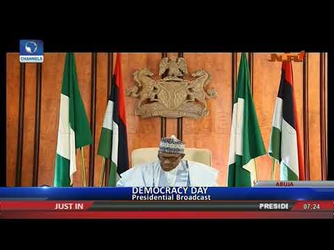 2019: Buhari Asks Nigerians To Work Towards Credible,Violence-Free Elections