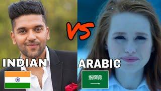 |Indian vs Arabic songs battle|Desi music factory| |Sony music India|t series|zee music company|