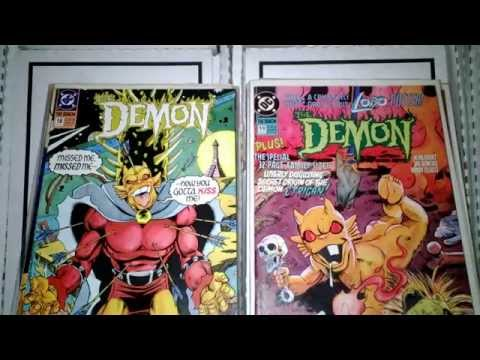 HERE IS MY COMIC BOOK COLLECTION / EBAY HAUL, DEMON STYLE!!