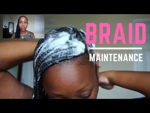 HOW I MAINTAIN MY BRAIDS & REDUCE FRIZZ (EASY TIPS)