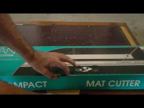 Mat Cutter, Foam Core and Mat Board