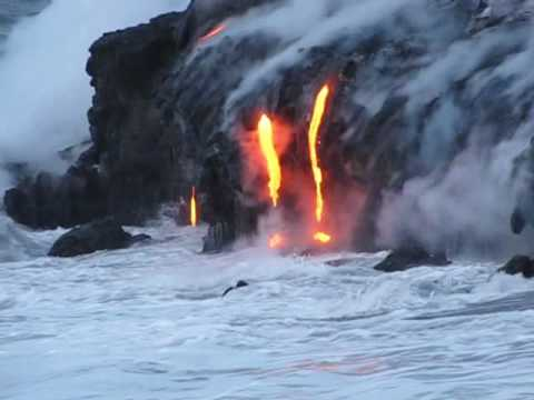 Kilauea Ocean Entry May 3, 2010