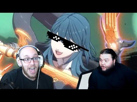 BYLETH IS IN SMASH (DLC 5 REACTION)