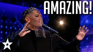 Simon Cowell and Judges Loves His Voice! | America's Got Talent 2020 | Got Talent Global