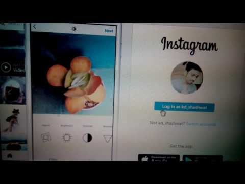 How to send Instagram direct message through pc without using bluestacks or any other external app