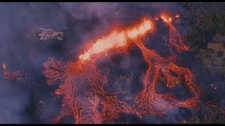 Lava flow from Hawaii