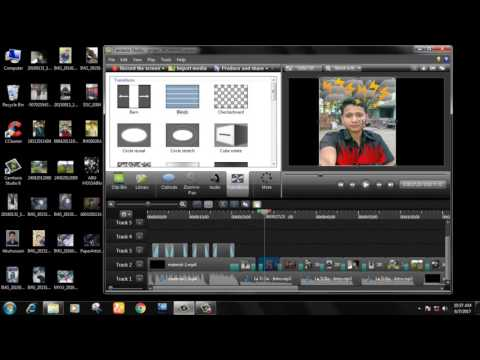 How to Make images to Video slideshow with Pictures and Music .pictuer make video slideshow