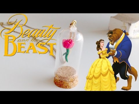 Beauty and the Beast Enchanted Rose Tutorial