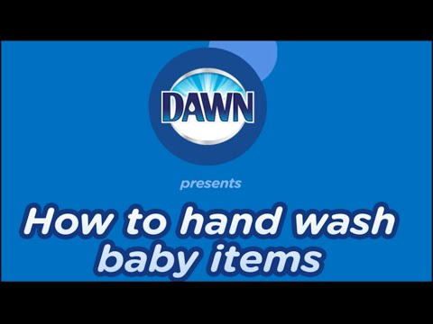 How to Hand Wash Baby Bottles