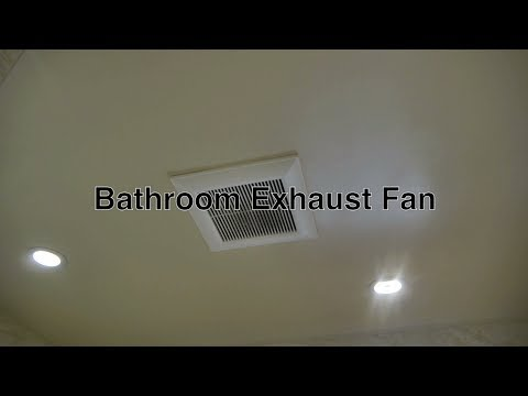 Panasonic Bathroom Exhaust Fan For Attic Ceiling Ventilation Without Light w/ Strong Vent Motor