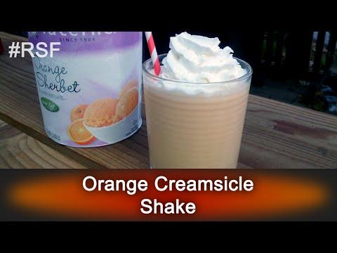 Orange Creamsicle Shake - Ready, Set, Flambé: Fun Size