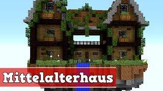 Minecraft Haus Bauen Mittelalter Videos Ytubetv - Minecraft schones mittelalter haus bauen